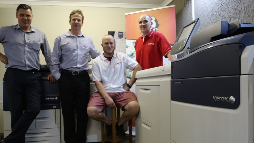 Branders Printing Co. boosts future business confidence with Xerox Versant 180 and Xerox D95