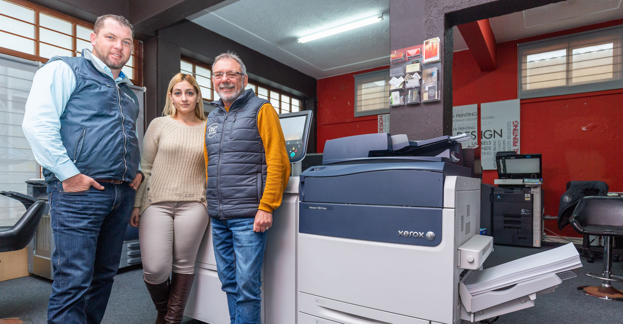 Epic Print expands colour printing business with Altron BDS and Xerox